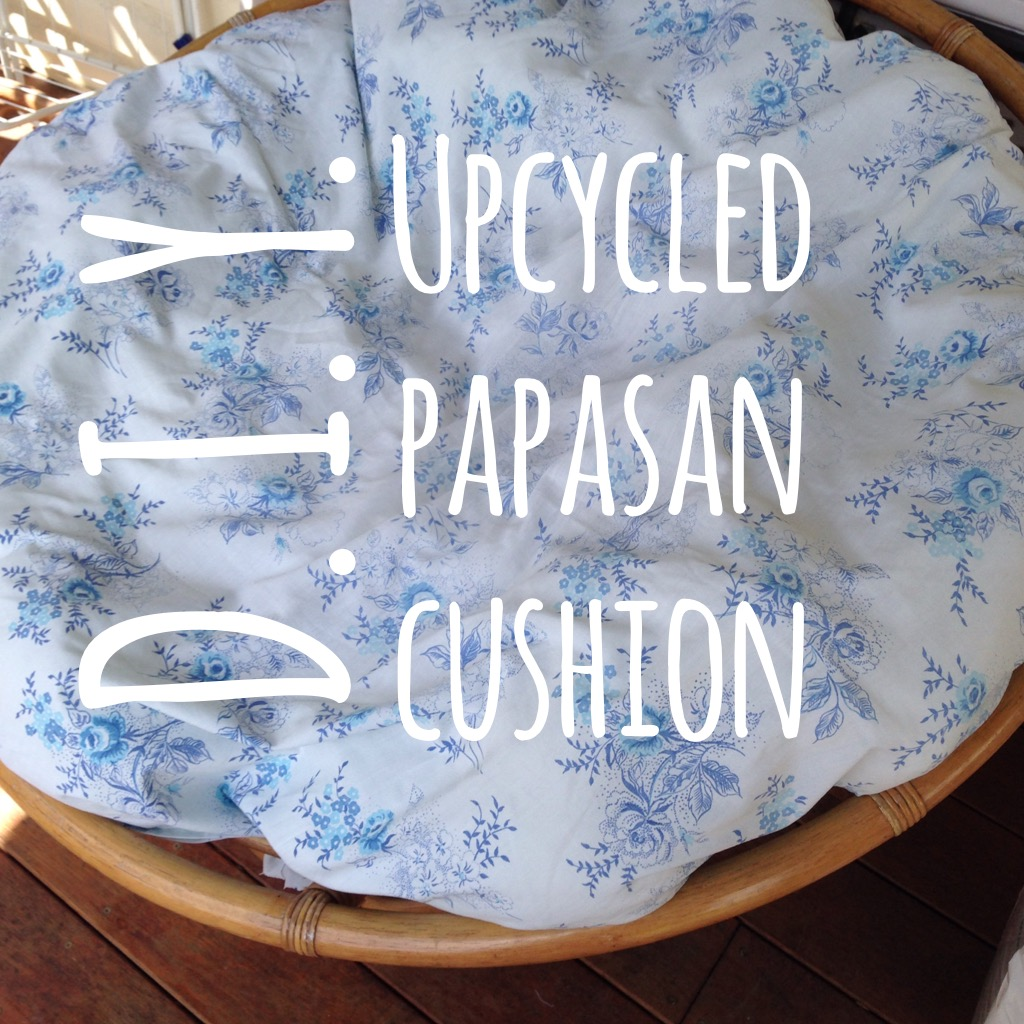 DIY Papasan Cushion