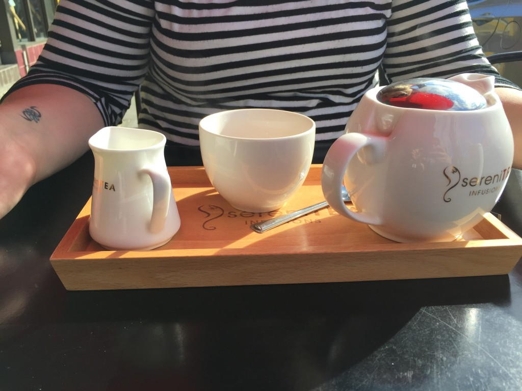 Tea at Good Oil Espresso