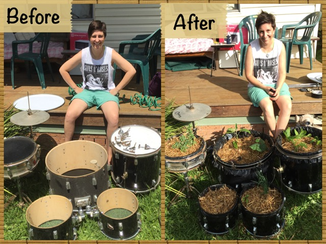 drum_kit_garden_ before and after